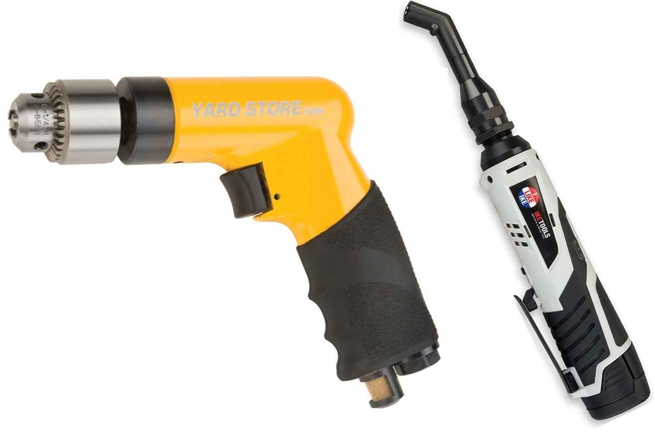 Pneumatic and Cordless Dr